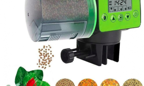 MQ Feeder- Automatic Turtle Pellet Feeder